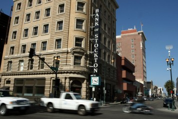 Downtown Stockton's large, historic buildings offer an economic opportunity for the city