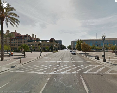 Converting El Dorado Street into a two-way street could give surrounding businesses a boost