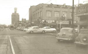 Miner Avenue in the 1950's