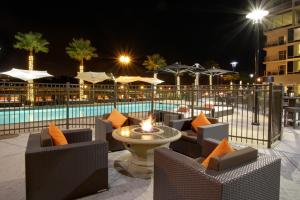 Shortly after acquiring the hotel, owner Patrick Willis invested in the building's common area, finishing the pool and purchasing swanky patio furniture