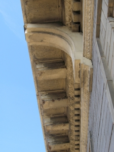 SCL cornice before