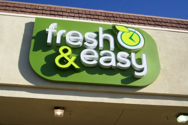 """Fresh & Easy was planning to bring """"five to six"""" stores to Stockton."""