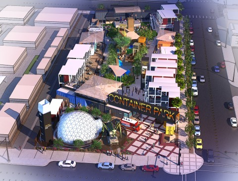 Downtown Las Vegas' Container Park