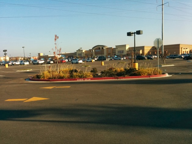 This is the Wal-Mart parking lot on Dec. 22nd at 3:00pm.