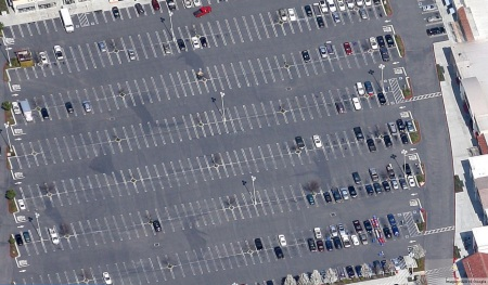 Stockton wastes valuable farm land for parking lots that sit empty most of the time.