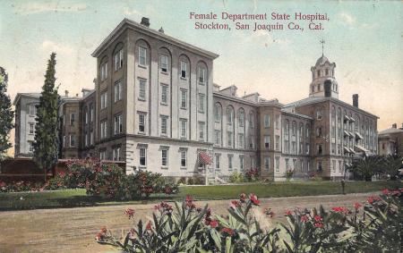 Stockton State Hospital, Female Department