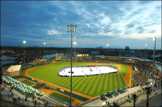 Could the Thunder ever host a game outside at Banner Island Ballpark?
