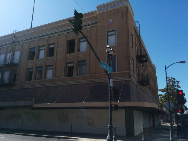 The Hotel Terry was recently purchased by a developer from Oakland who plans to turn the historic building into a first floor farmer's market and market-rate apartments